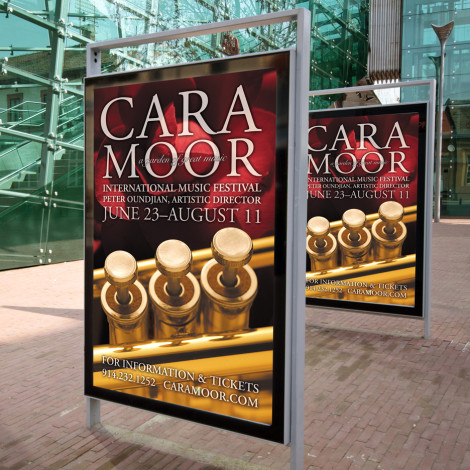 Caramoor – Transit Poster